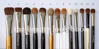 trish mcevoy eyeshadow brush 10 2 mac square shader brush 259 pro 3 mac large fluff brush 227 4 stila all over shadow brush 5