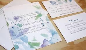 Wedding Invitations Watercolor Watercolor Wedding Invitations By Printerette Press Invitation Crush