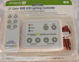 armacost 21 color rgb led lighting controller. new armacost 21 color rgb led lighting controller- model al-rgb4a- free shipping controller