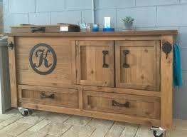 rustic dining room sideboard. Rustic Cooler Cabinet, Outdoor Bar, Bar Sideboard, Buffet Dining Room Sideboard