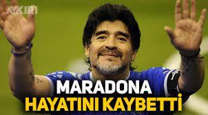 Maradona öldü mü, son dakika haberine göre Diego Armando Maradona hayatını  kaybetti - Spor - AYKIRI haber sitesi