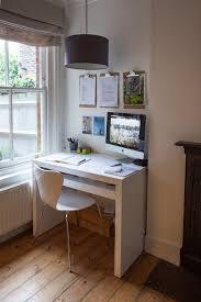 tiny home office. Cathy \u0026 Tony\u0027s Calm, Creative English Home Tiny Office