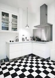 Black And White Flooring Black White And Red Kitchen Design Ideas 6572 Baytownkitchen