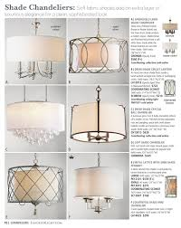 shade chandeliers soft fabric shades add an extra layer of luxurious elegance for a clean