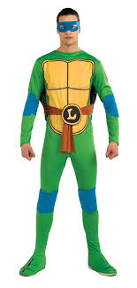 ninja turtles costumes for men.  Men Amazoncom Nickelodeon TMNT Adult Leonardo Costume And Accessories Costume  Clothing And Ninja Turtles Costumes For Men R
