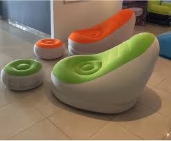inflatable lounge furniture. Bestway 75053 Comfort Inflatable Relaxing Single Air Chair + Foot Rest Lounge Seat Sofa Furniture