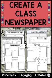 Creating A Newspaper Template