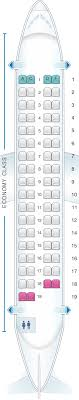 Air India Flight Seating Chart Seat Map Air India Atr 72 600 Seatmaestro