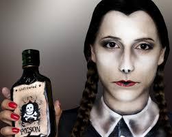 wednesday addams makeup by sarah magic makeup
