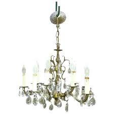 brass chandelier lighting vintage brass chandelier dripping prisms light baldwin brass chandelier lighting