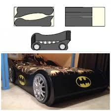 Batmobile full Bed plans! | Do It Yourself Home Projects from Ana White -  build