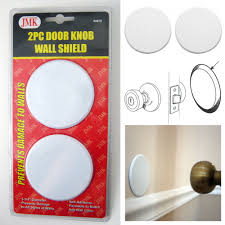 4 wall protector door prevent drywall holes dings white 3 1 4 round shield walmart