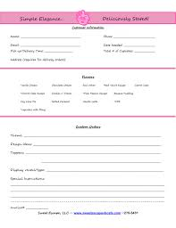 Invoiceorder Form Setup Cupcakes Cake Order Forms