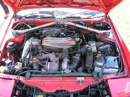 toyota celica gt4 st165 engine bay layout