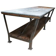 used industrial furniture. drapery table belgium 1940u0027s industrial top level is a zincgalvanised old used furniture
