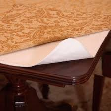 table protector. heavy duty cushioned table pad protector