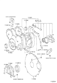 Dyna timing gear cover rear end plate