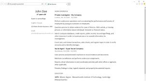 simpleresume resume cv maker screenshots windows phone