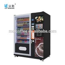 Cold Drinks Vending Machine Stunning Automatic Drink Vending Machine For Snack And Cold Drinks Le48a