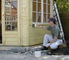 top tips painting a timber building