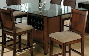 wood glass dining tables dining room large size rectangular glass dining table wood base archives kitchen