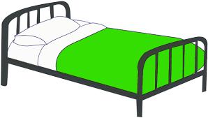 bed clipart. Modren Clipart Bed Single Clipart 1 Throughout B
