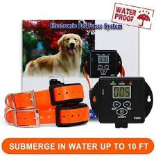 invisible fence for small dogs. FunAce Rechargeable, Waterproof, And Invisible Wired Dog Fence For Small Dogs