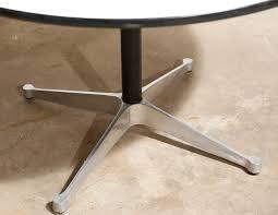eames round dining table van der most modern