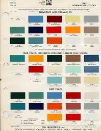 Automotive Paint Colors Online Charts Collection