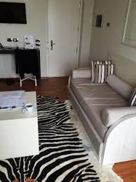 terrazza marconi hotel spamarine zebra skin rug
