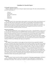 academic paper format template for scientific research paper