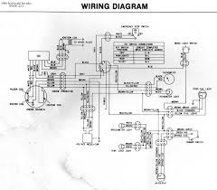 kawasaki invader snowmobile wiring diagrams 1981 440 manual start · 1981 440 electric start · back to the main wiring diagrams page