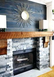 fireplace facing kits faux stone surround kit mantel diy stone fireplace surround after at faux kits