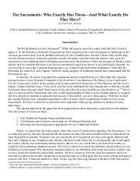 liberation wisconsin lutheran seminary library essays the sacraments wisconsin lutheran seminary library essays