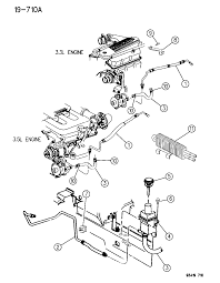 1996 chrysler concorde power steering hoses