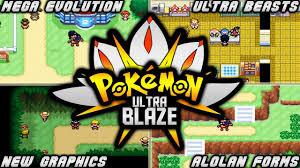A Start Gaming - POKEMON ULTRA BLAZE (GBA) | ROM HACK WITH MEGA  EVOLUTION,ULTRA BEASTS,B/W GRAPHICS & ALOLAN FORMS!