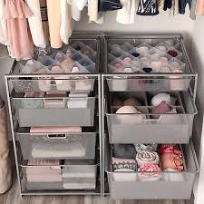 drawers closet storage