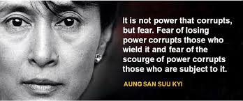 the eloquent w famous speech friday aung san suu kyi s  famous speech friday aung san suu kyi s dom from fear