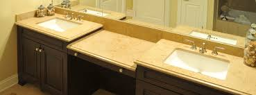 chicago glencoe luxury bathroom countertop installation