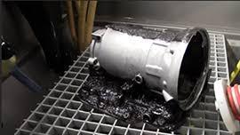Reman Transmission Case Degreasing with Baking Soda