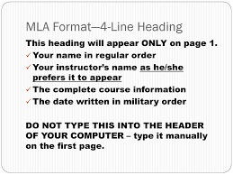Mla Formatting English Iii Ap Ppt Download