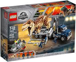 Đồ chơi lắp ráp LEGO Khủng Long Jurassic World 75933 - Xe Truy Bắt Khủng  Long Bạo Chúa T. rex (LEGO 75933 T. rex Transport) giá rẻ tại cửa hàng  LegoHouse.vn LEGO