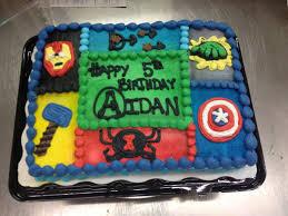 superhero sheet cake avengers birthday cake 1 4 sheet whipped icing cakes ive made