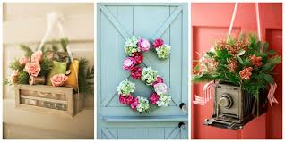 Image Pinterest Image Of Hanging Flower Front Door Decorations For Spring Rooms Decor And Ideas Diy Front Door Decorations For Spring Alluring Front Door