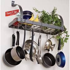 Pot Racks For Small Kitchens Kitchen Pot And Pan Hanger Rseaptorg