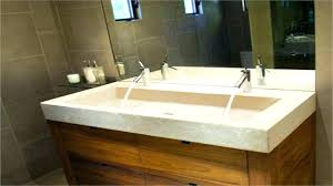 sophisticated trough sinks with two faucet sink faucets bathroom faucet 2 double trough sink two faucet