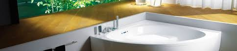 corner whirlpool bathtubs are installed against 2 walls and designed to fit the corner of the bathroom many of these whirlpools have a triangular basin and