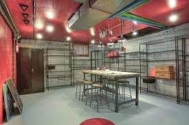 painted basement ceiling ideas. Painted Pipes And Ceiling Basement Ideas S