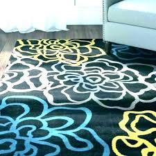 gray yellow rug vectgebrainfo blue and yellow rug blue yellow area rug
