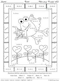 basic math facts coloring pages free coloring pages color by numbers math worksheets math coloring addition